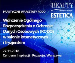 Wdrożenie RODO w salonie kosmetycznym i fryzjerskim @ Warszawa | Warszawa | mazowieckie | Polska