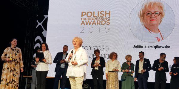 Julitta-Siemiątkowska-Człowiek-Roku-Polish-Hairdressing-Awards-2019